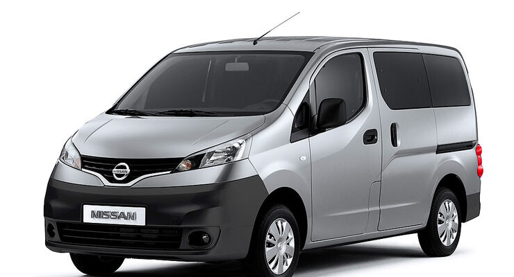 nissan nv200 neuer japan bus tritt an auto motor und sport. Black Bedroom Furniture Sets. Home Design Ideas