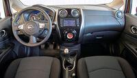 Nissan Note, Cockpit, Lenkrad