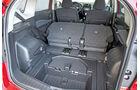 Nissan Note, Kofferraum, Fondsitze Umklappen