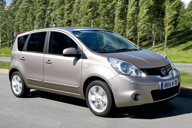 Nissan Note E11 Tests Auto Motor Und Sport