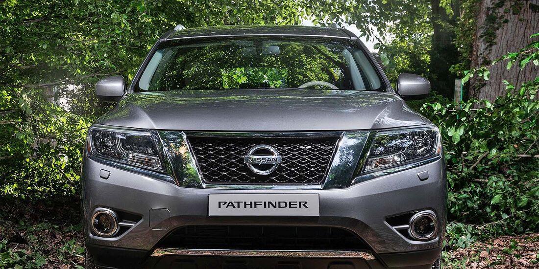 Nissan Pathfinder 2014 Moskau Motorshow