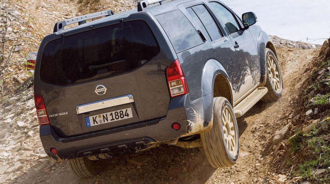 Nissan Pathfinder, Heckansicht