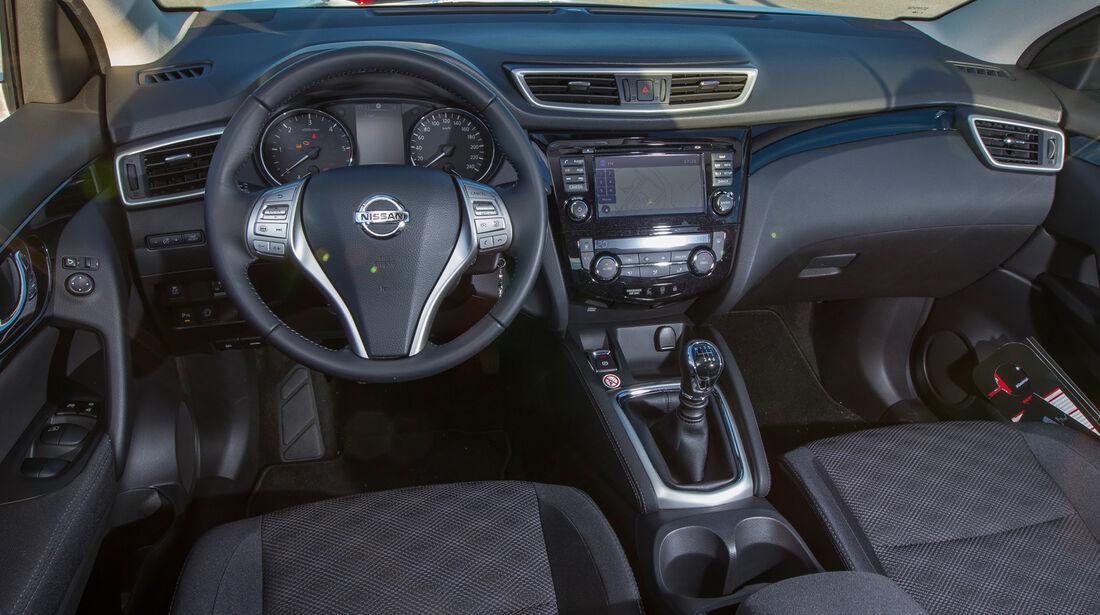 Nissan Qashqai 1.5 dCi, Cockpit