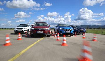 Nissan Qashqai, Renault Kadjar, Seat Ateca, VW Tiguan, Exterieur