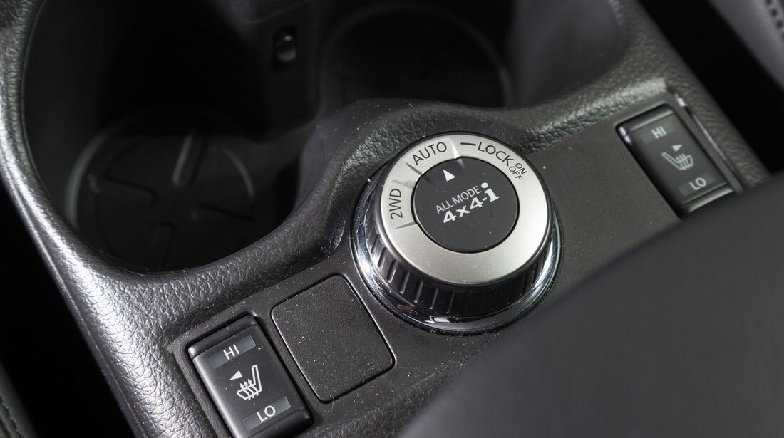 Nissan X-Trail 1.6 dCi 4x4, Bedienelemente