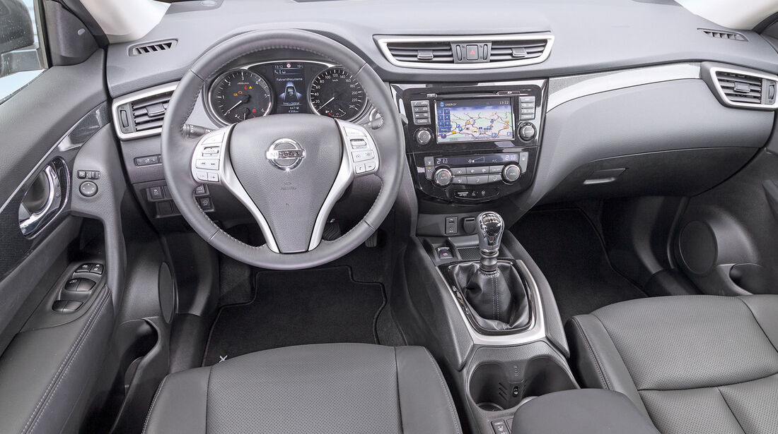 Nissan X-Trail 1.6 dCi 4x4, Cockpit