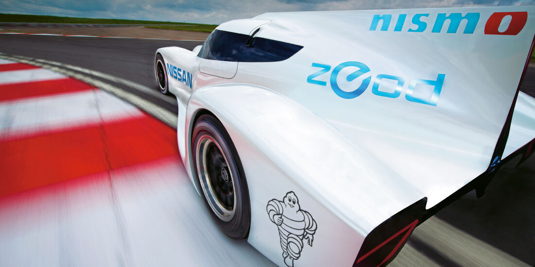 Nissan ZEOD RC, Heckansicht