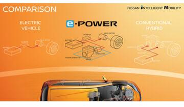 Nissan e-Power Elektroantrieb Hybrid