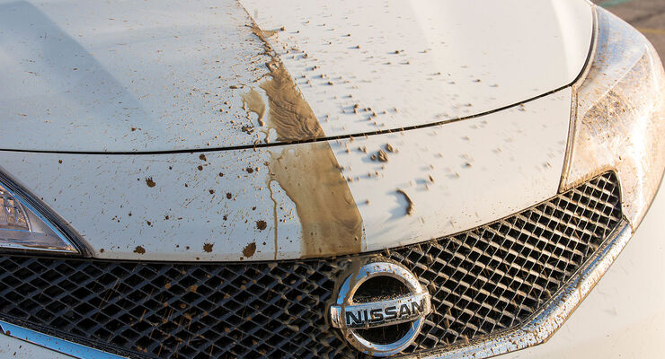 Nissan, nanolack, selbstreinigung