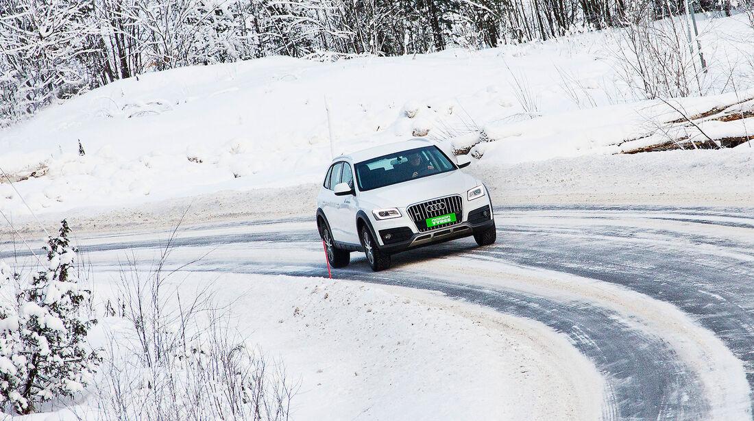 """Nokian Tyres' Testgelände """"White Hell"""" Ivalo"""