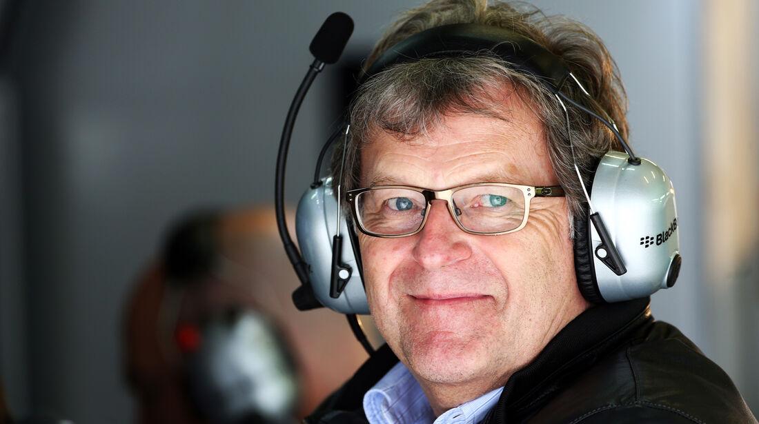 Norbert Haug - Mercedes - Formel 1 - GP Deutschland - 5. Juli 2013
