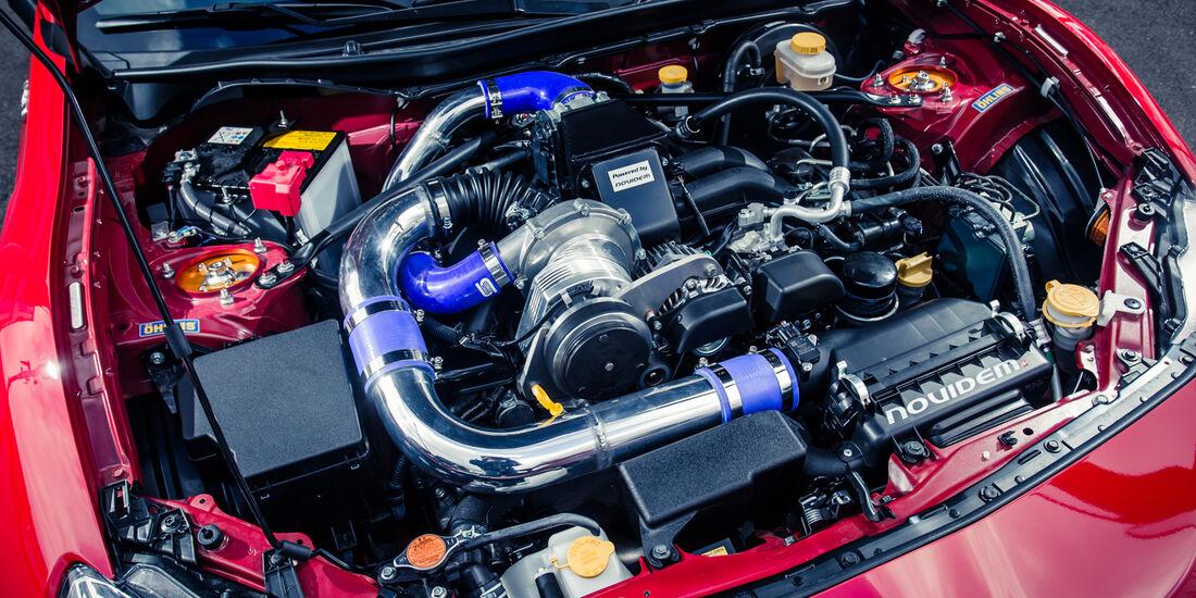 Novidem-Toyota GT86, Motor