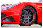 Novitec-Ferrari F12 N-Largo, Rad, Felge, Bremse