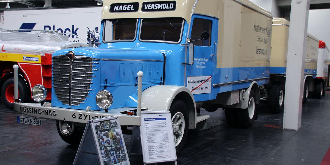 Nutzfahrzeug-IAA 2016 – Oldtimer und US-Trucks