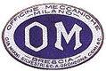 OM Officine Meccaniche Milano Logo