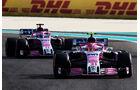 Ocon & Perez - Force India - Formel 1 - GP Abu Dhabi  -24. November 2018
