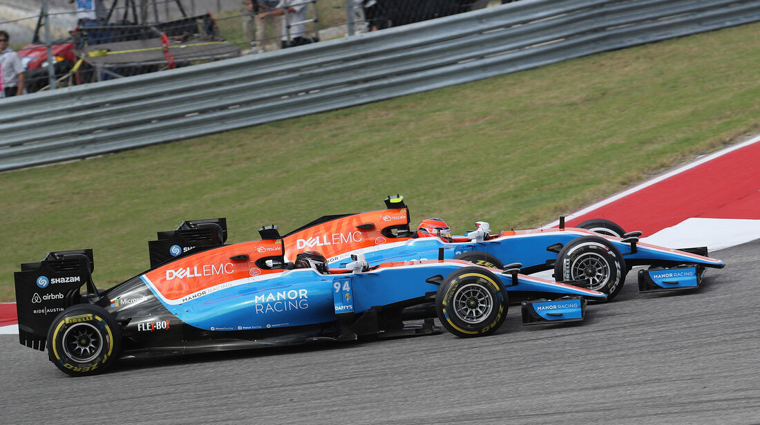 Ocon vs. Wehrlein - GP USA 2016