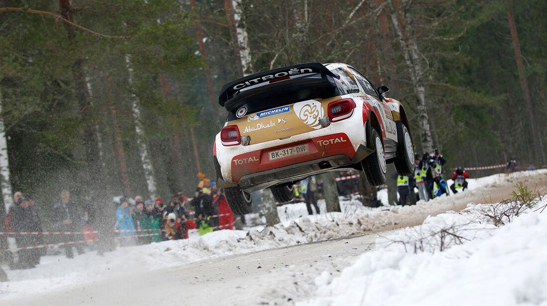 Östberg, WRC, Citroen, Rallye Schweden 2014