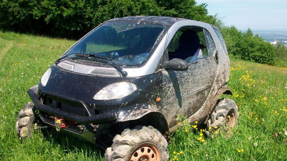 Offroad-Smart fortwo von George Kosilov
