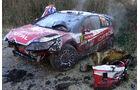 Ogier Unfall WRC Rallye GB 2008