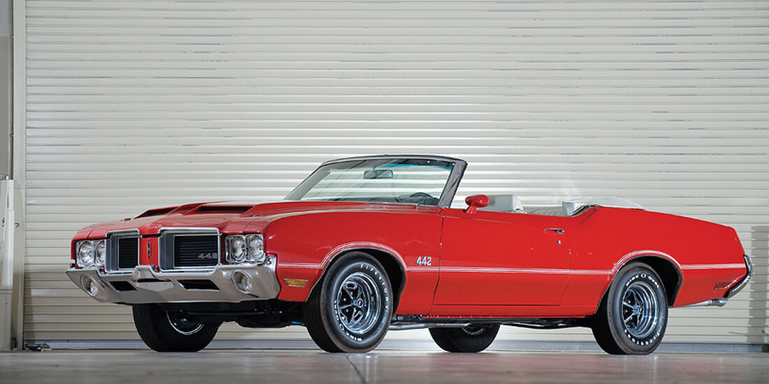 Oldsmobile 442 Convertible (Frontansicht)