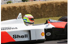 Olvier Turvey - McLaren MP4/4 - Goodwood 2013