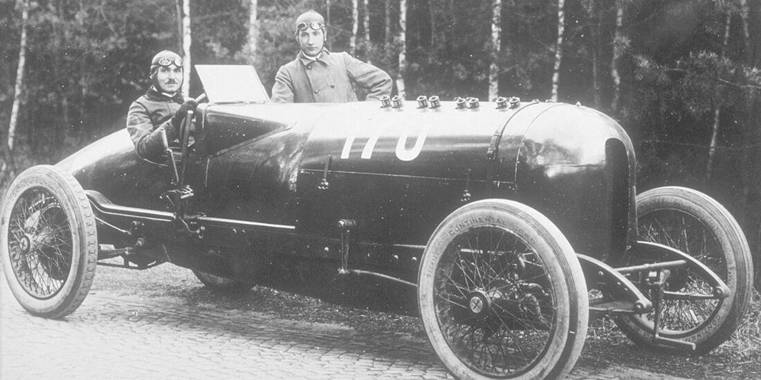 Opel 260 PS 12,3 Liter Opel-Rennwagens von 1914