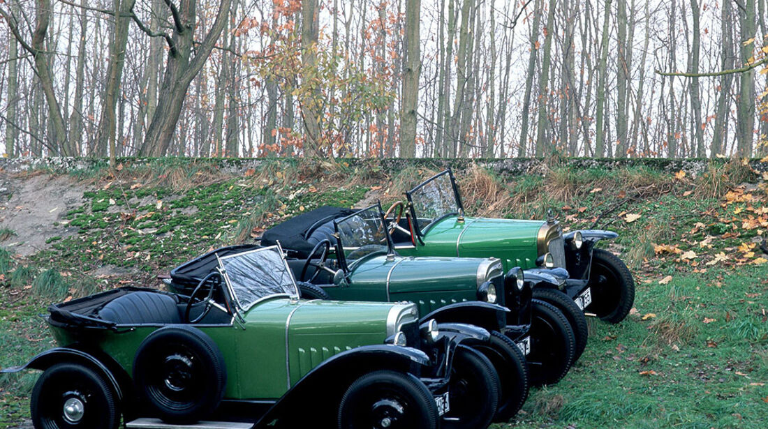 Opel 4/12 PS Laubfrosch, 1924