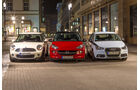 Opel Adam 1.4 ECOFLEX, Audi A1 1.2 TSI, Mini One, Frontansicht