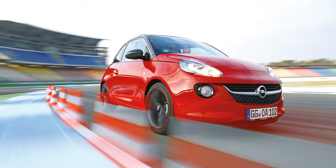 Opel Adam 1.4, Frontansicht