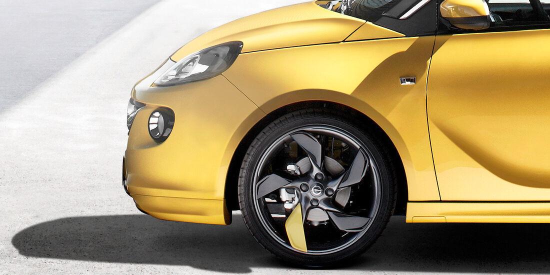 Opel Adam, Felge
