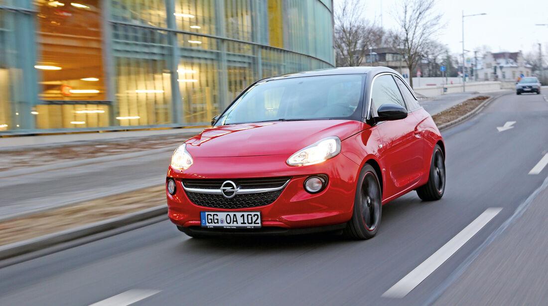 Opel, Adam, Frontansicht