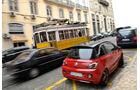 Opel Adam, Heckansicht, Straßenbahn