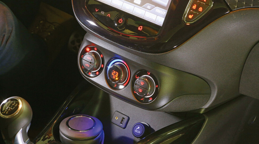 Opel Adam, Klimaautomatik