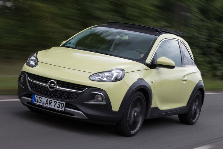 Opel Adam Rocks 1.0 DI Turbo, Frontansicht