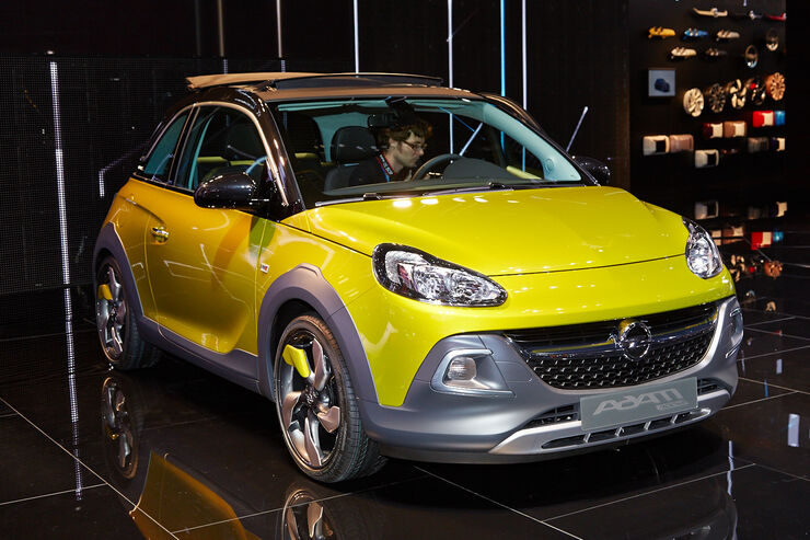 opel adam rocks auf dem genfer autosalon 2014 kleiner. Black Bedroom Furniture Sets. Home Design Ideas