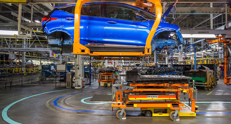 Opel Ampera-e Produktion Orion Plant, Michigan