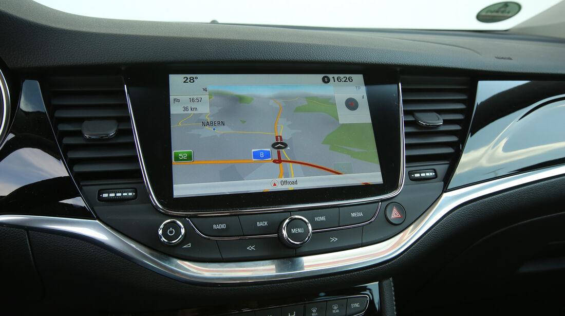 Opel Astra 1.0 DI Turbo, Navi