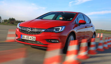 Opel Astra 1.0 Turbo, Frontansicht