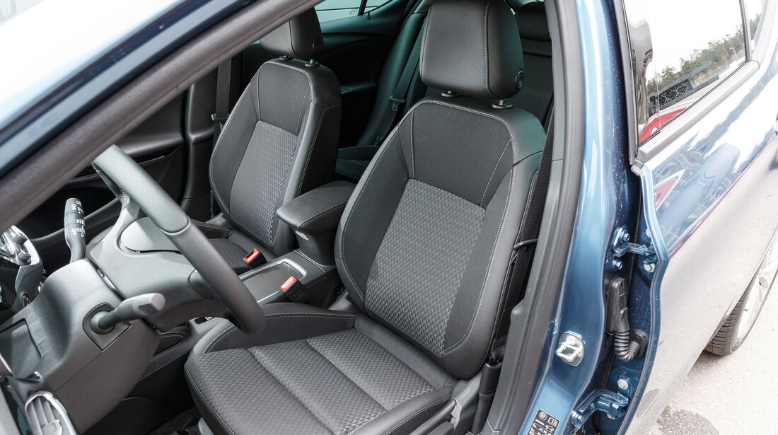 Opel Astra 1.4 DI Turbo, Fahrersitz