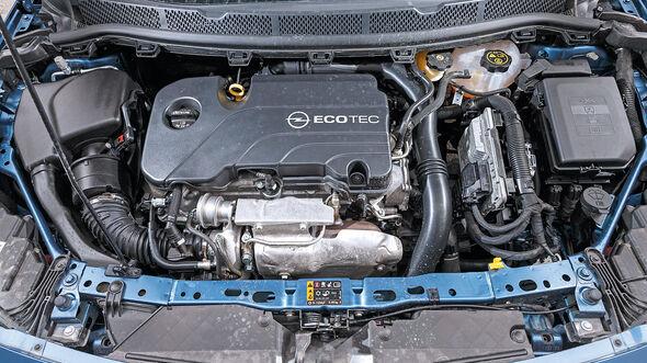 Opel Astra 1.4 DI Turbo, Motor