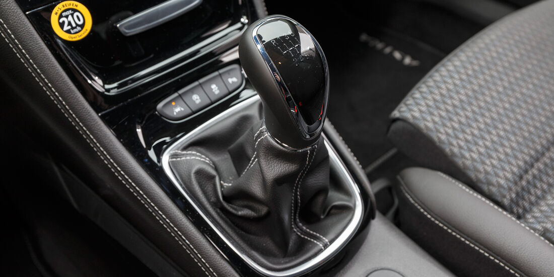Opel Astra 1.4 DI Turbo, Schalthebel