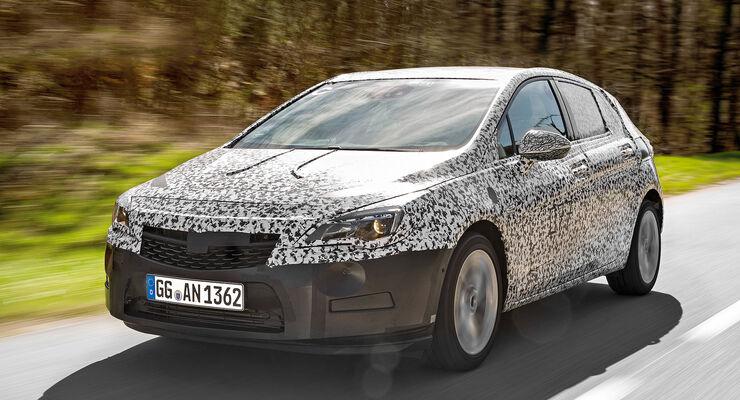 Opel Astra 2015, Erlkönig, Fahrbericht, asv1115