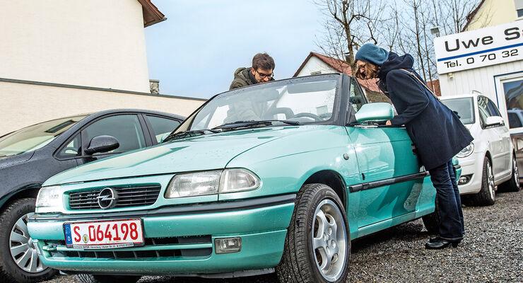 Opel Astra Cabrio 1.6i Bertone Edition, Frontansicht