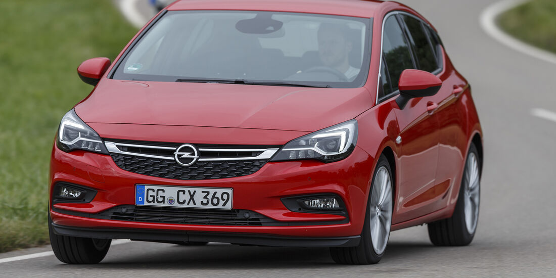 Opel Astra, Exterieur Front