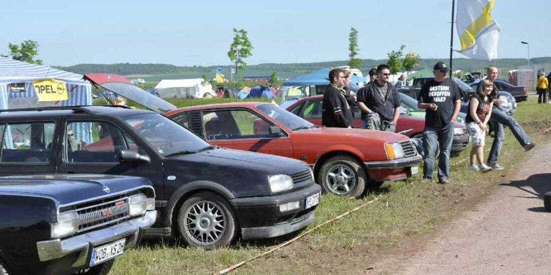 Opel Astra F Ratte