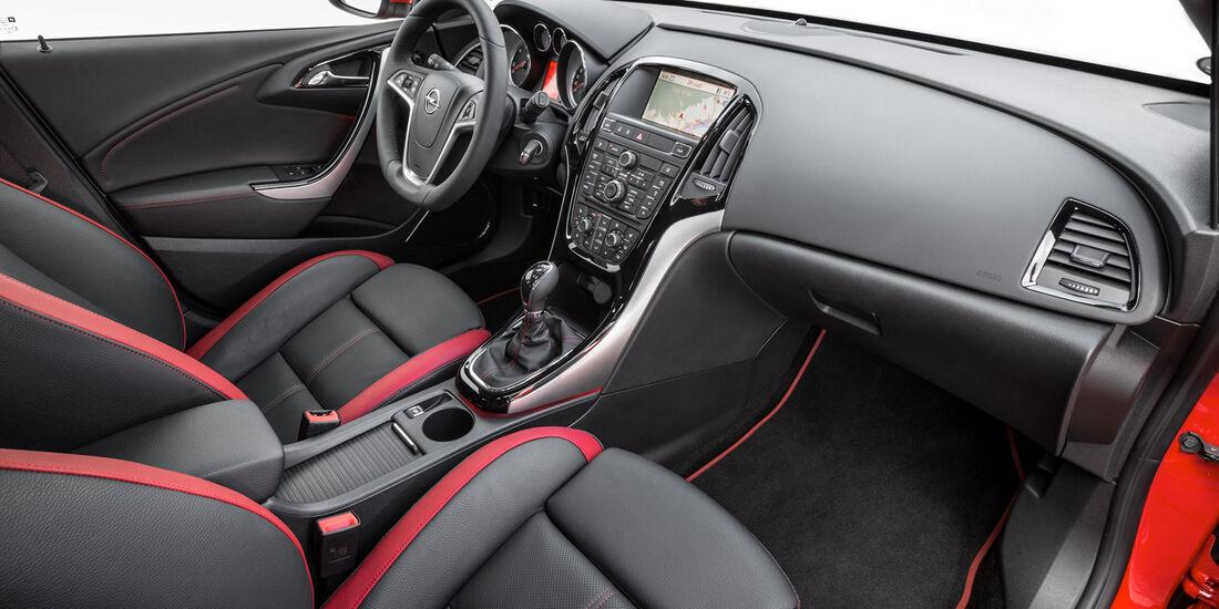 Opel Astra Limousine 1.7 CDTi Ecoflex Start/Stopp 99g Edition, Innenraum