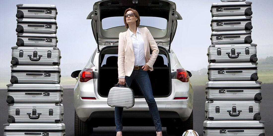 Opel Astra Sportstourer, Astra Kombi, Kofferraum