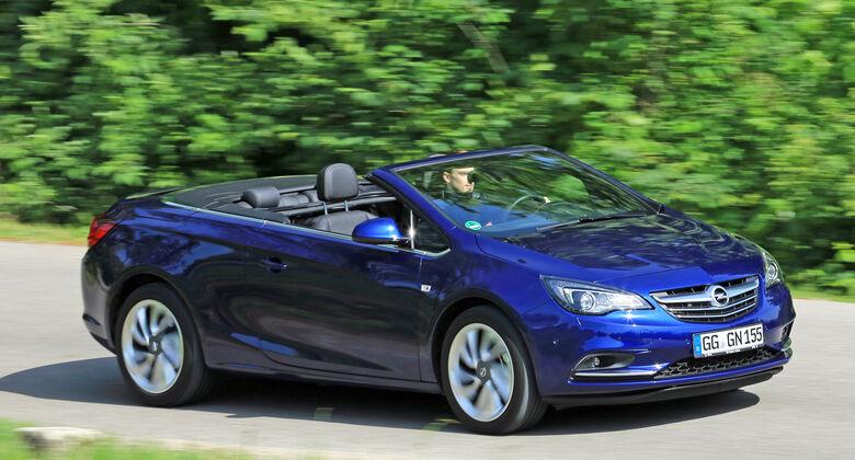 Opel Cascada 1.6 Sidi Turbo, Frontansicht