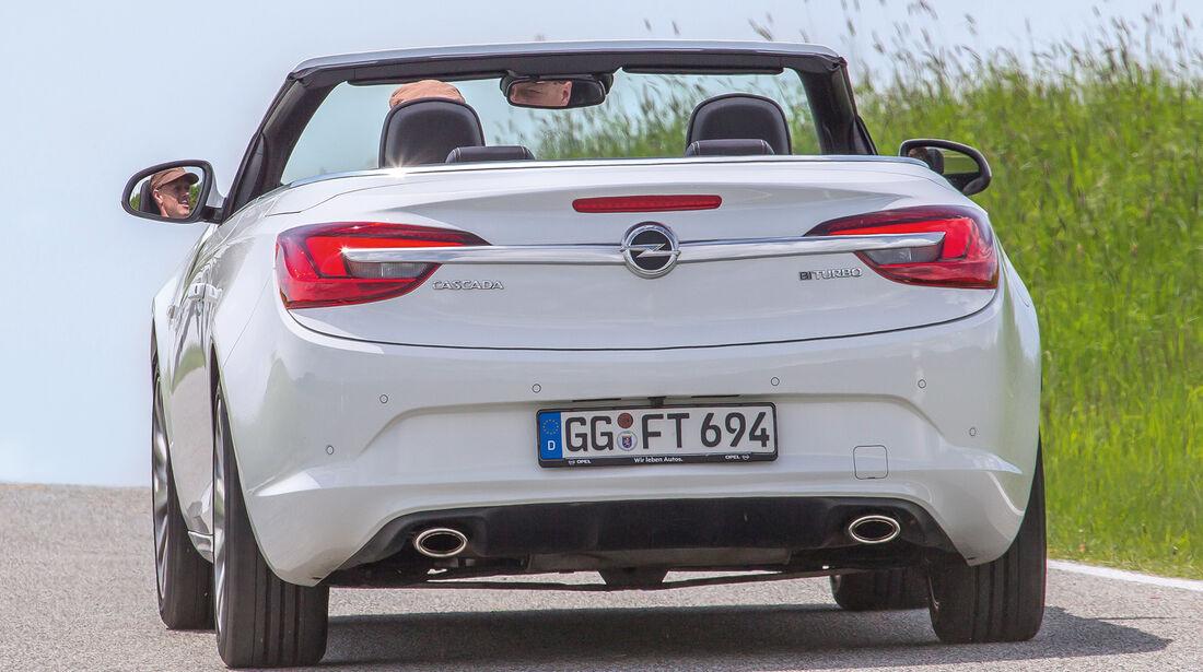 Opel Cascada 2.0 BiTurbo CDTi, Heckansicht